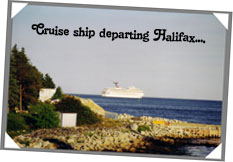 Halifax is a regular port of call for the major cruise lines...